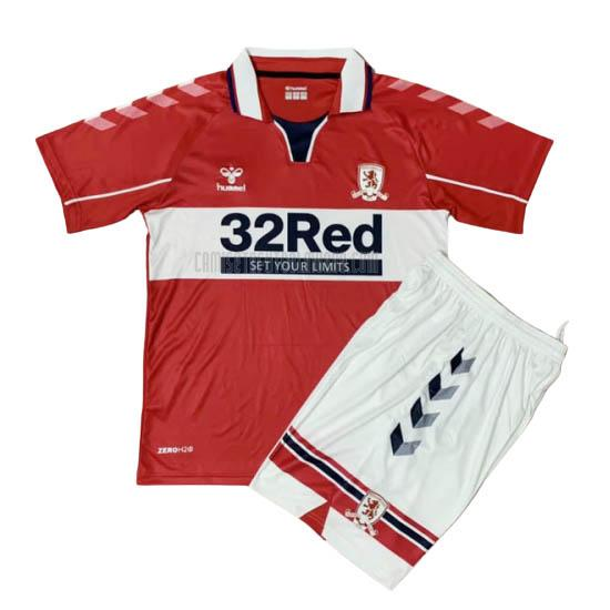 camiseta del middlesbrough del niños primera 2020-2021